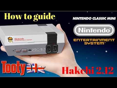 Nintendo Classic Mini - NES Mini - How to guide - Hakchi 2.12