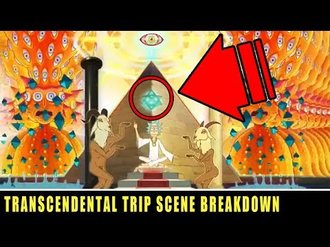 Rick and Morty Transcendental Trip Scene Breakdown! Esoteric Symbolism and Meaning