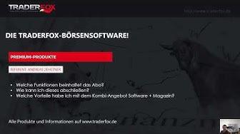 Das Einstiegs-Abo zur Börsensoftware von TraderFox