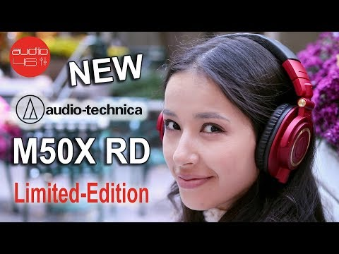 New ATH-M50xRD. Red Limited Edition  2017
