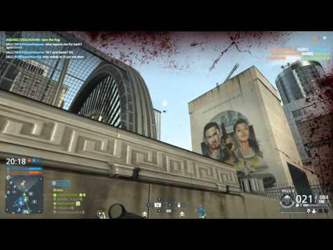 Battlefield Hardline  - Conquest Large - Bank Job  - SA-58 OSW
