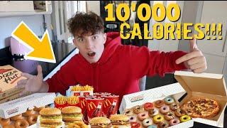 10000 CALORIE CHALLENGE!