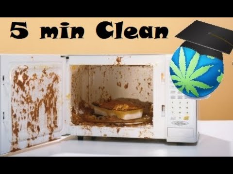 How To Clean A Microwave In 2-4 Min With No Scrubbing - Maid Trick