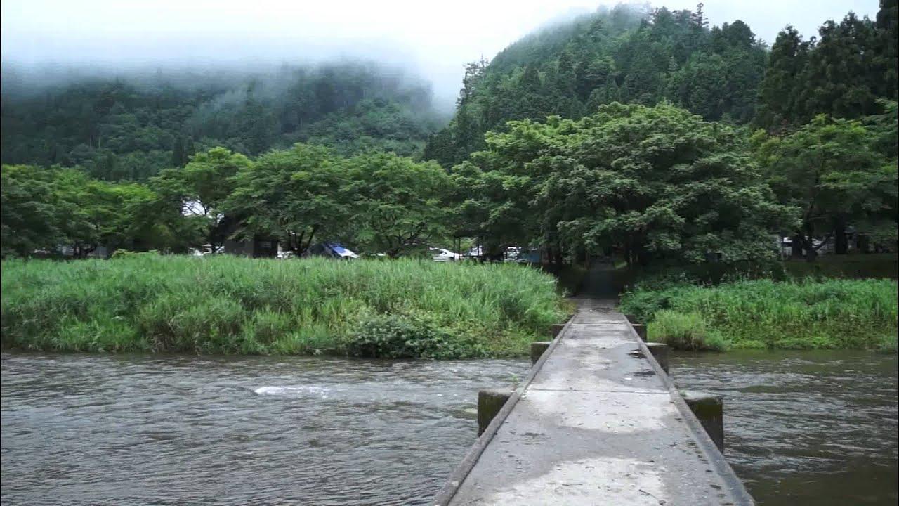 美山町自然文化村キャンプ場【京都府南丹市美山町】 - YouTube