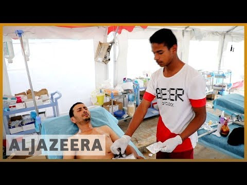 Libya unrest: Health workers suffer amid fight for Tripoli
