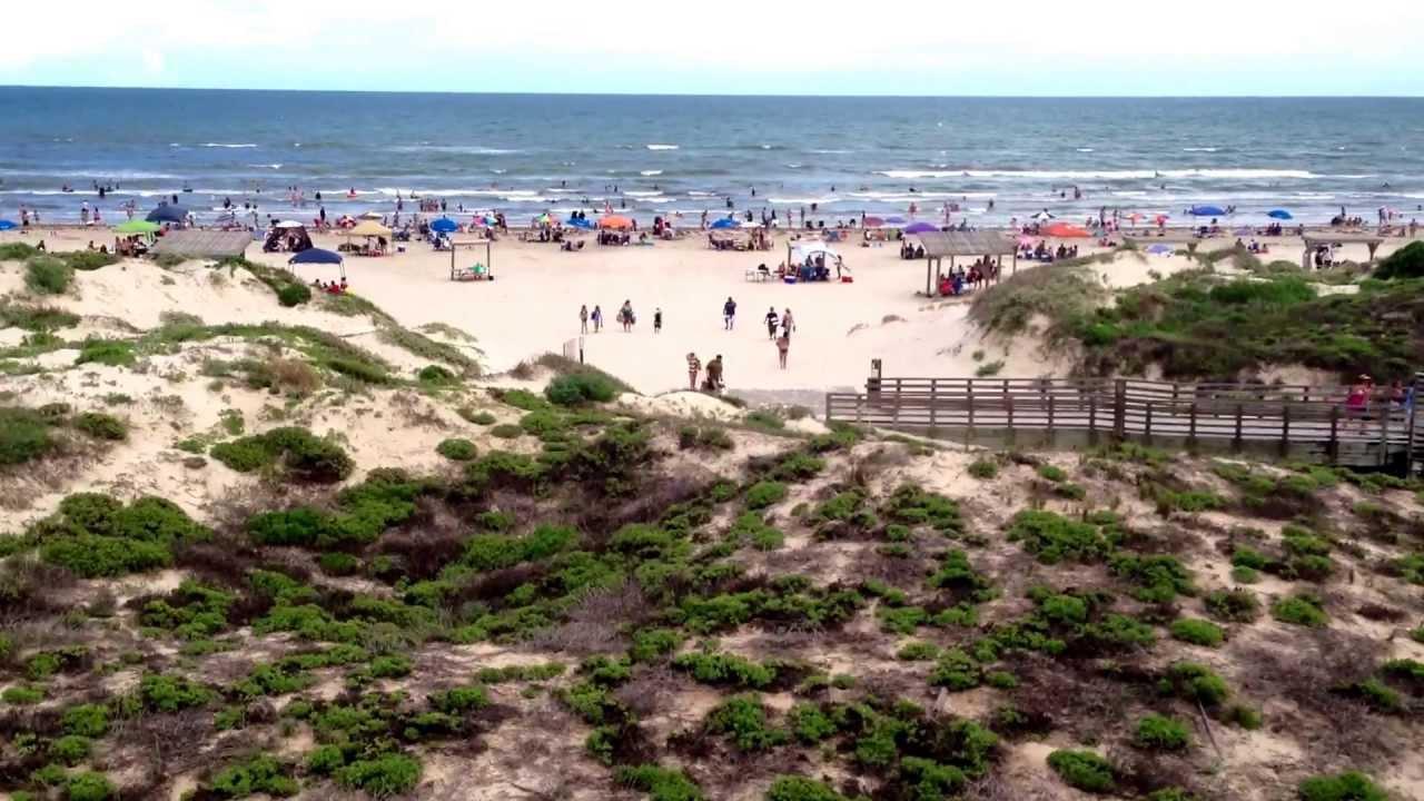 Malaquite Beach North Padre Island Texas Beach 1080p Hd Youtube