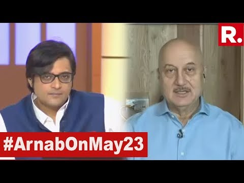 Anupam Kher Speaks Exclusively To Arnab Goswami On 2019 Lok Sabha Election Results | #ModiSweep