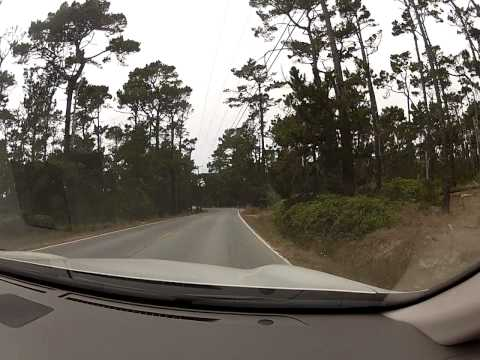 17-Mile Drive in Pebble Beach Part 1 of 3