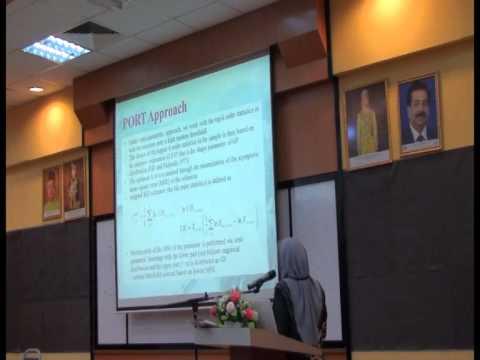 Assoc Prof Dr Wan Zawiah Wan Zin : Regional Frequency Analysis for Peninsular Malaysia