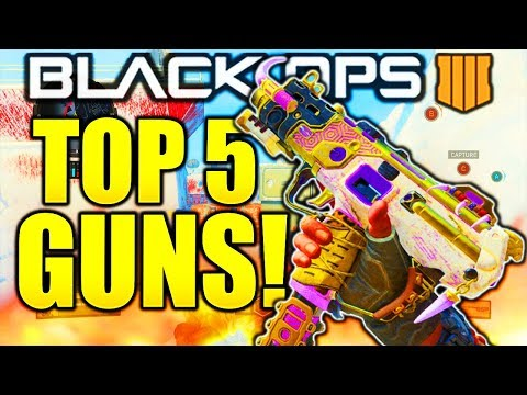 TOP 5 BEST GUNS IN BO4 AFTER PATCH! COD BLACK OPS 4 BEST GUNS AFTER 1.09 BO4 BEST WEAPONS RIGHT NOW!