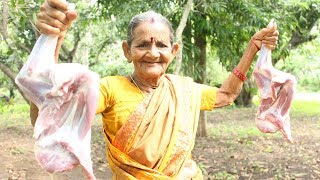 Mutton Lamb Biryani Recipe || Hyderabad Goat Biryani By Grandma || Myna Street Food
