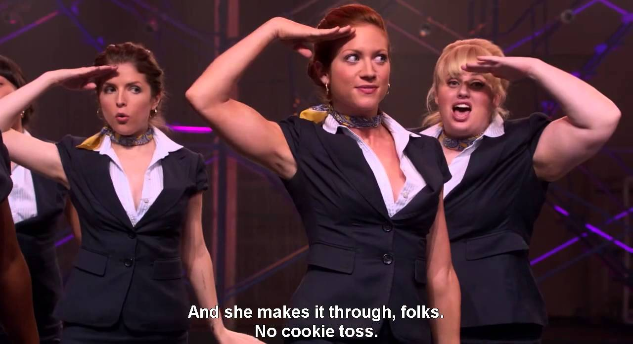 Pitch Perfect Barden Bellas Regionals Scene 720p Youtube