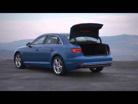 Audi A4 (B9) Sedan Footage