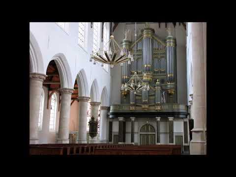 Daar in de heuvels van Judea Hatikva Delft oude kerk orgel