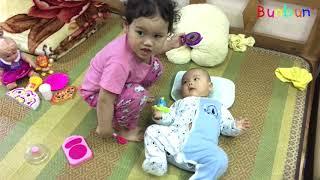 Con Gái Làm Gì Khi Bố Mẹ Vắng Nhà? 💓 BunBun Kids TV