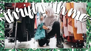 Come Thrift With Me | What I got for $100 at the Thrift Store | BIG Try On Thrift Store Haul