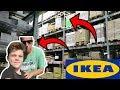 CLIMBING THE RAFTERS AT IKEA! (MET ADAM SANDLER)