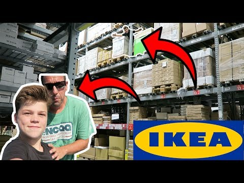 CLIMBING THE RAFTERS AT IKEA! (MET ADAM SANDLER)
