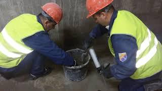 Видеоуроки ПРОНИКС  2  Гидроизоляция монтажных отверстий и холодных швов