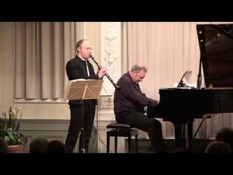 """Rhapsody in Blue.  """"Duo JanDi"""". Dimitri Schenker-Clarinet and Jan Weigelt-Piano"""