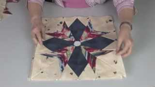 Cheryl Phillips May's Spikey Flower Table Runner Pattern