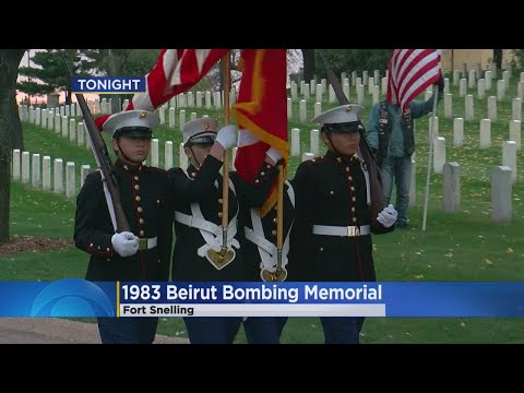Ft. Snelling Marks Anniversary Of 1983 Beirut Bombings