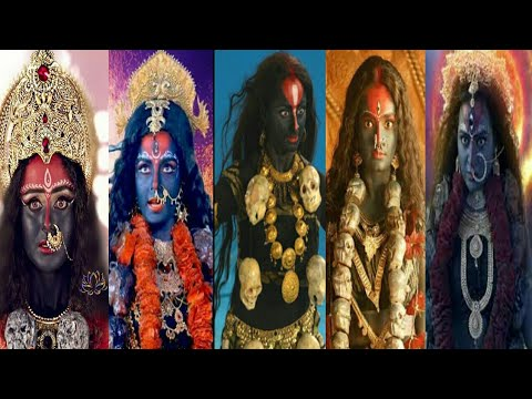 Pretty & Beautiful Actresses who Played the role of Maa Kali /Mahakali Beautifully||