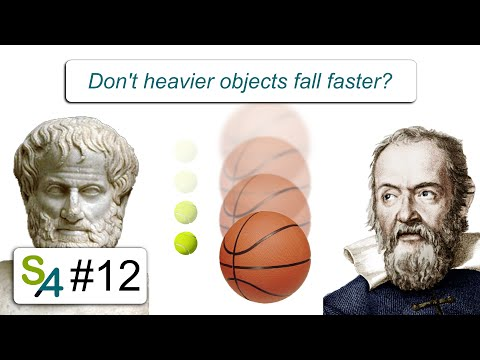 Don't heavier objects fall faster? Relativity 12