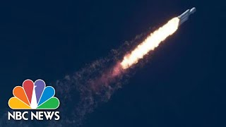 Watch Live: SpaceX Falcon Heavy Rocket Launches From Florida | NBC News