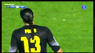 camacho canta el gol de bale antes de chutar final copa rey 2014
