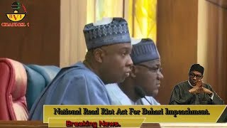 Breaking News: National Assembly Read Riot Act For Buhari Impeachment