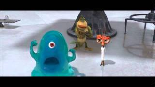Monsters vs Aliens funny - Whats your name...?
