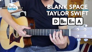 Blank Space | Taylor Swift | Guitar Lesson (How to Play)