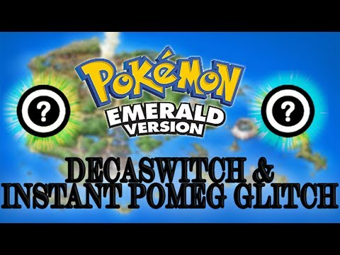 Pokémon Emerald| How to perform Decaswitch and Instant Pomeg Glitch [glitch]