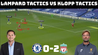 Tactical Analysis: Chelsea 0-2 Liverpool | Klopp and Lampard's Tactical Battle |