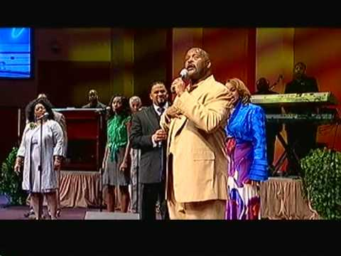Byron Cage Karen Clark-Sheard and Pastor Marvin L. Winans singing