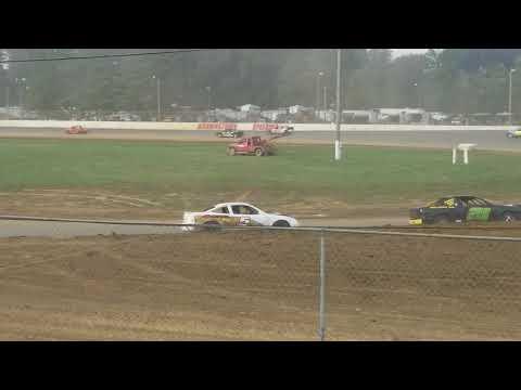 Brownstown Speedway Funfest Hornet Odd feature 10-13-18
