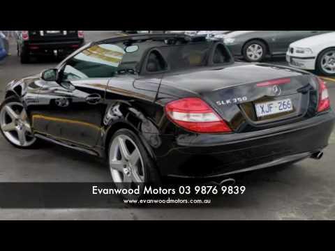 Mercedes Benz Slk 350 - Car City - Evanwood Motors - Car City Ringwood
