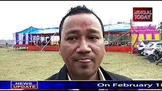 On february18, 2019, 11th establishment day oindian nepali gorkha sarki society was done at hasimara