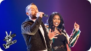 Kevin Simm Vs Faith Nelson: Battle Performance - The Voice UK 2016 - BBC One