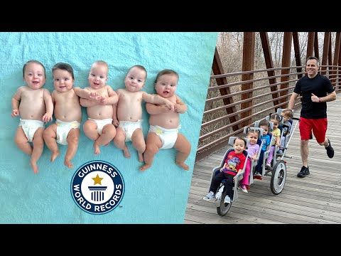 Meet the Dad Who Set a World Record by Running a Marathon With His Quintuplets