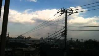 Tokyo Earthquake, main quake as it happened 2011/03/11 ~15:00 local
