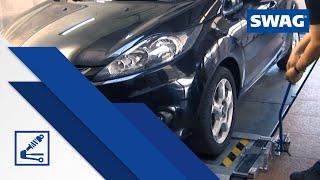 видео Проверка передней подвески и рулевого управления