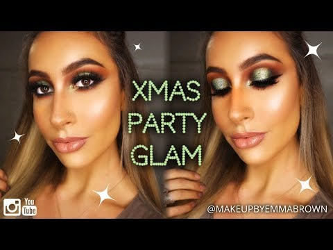 TUTORIAL: CHRISTMAS PARTY GLAM // UPDATED FOUNDATION ROUTINE | Makeup By Emma Brown