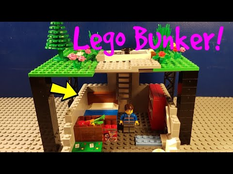 How To Build A Lego Bunker!