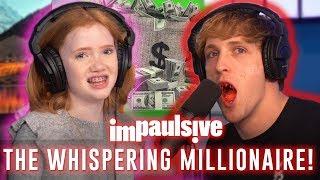 **ASMR** 13 YEAR OLD WHISPERING MILLIONAIRE - IMPAULSIVE EP. 14