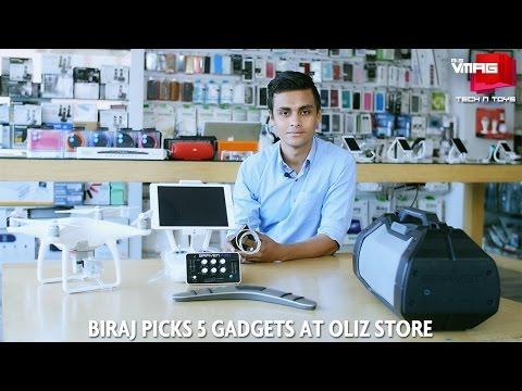 Five From Oliz | Biraj Picks 5 Gadgets At Oliz Store | M&S TECH & TOYS | M&S VMAG