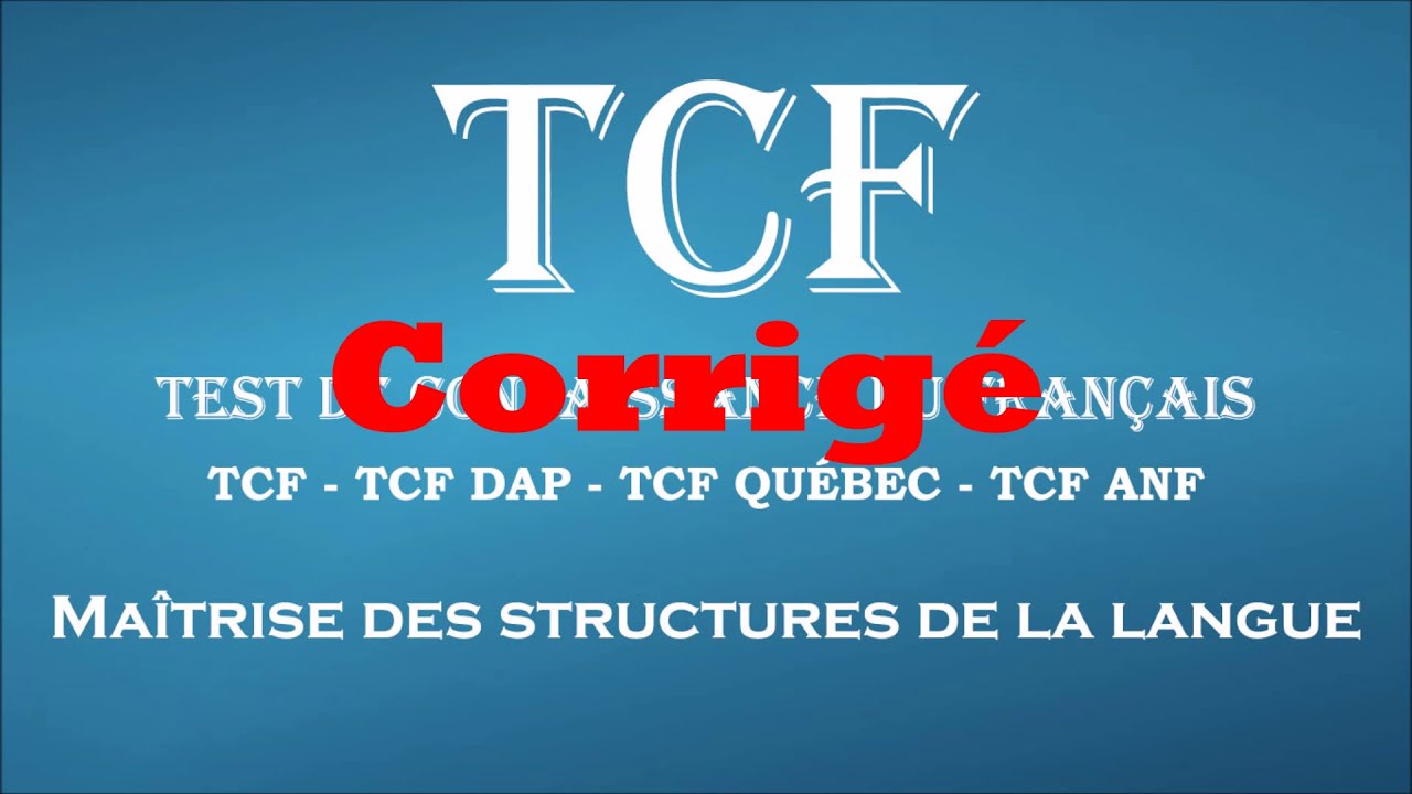TCF ACTIVITES TÉLÉCHARGER GRATUIT 250
