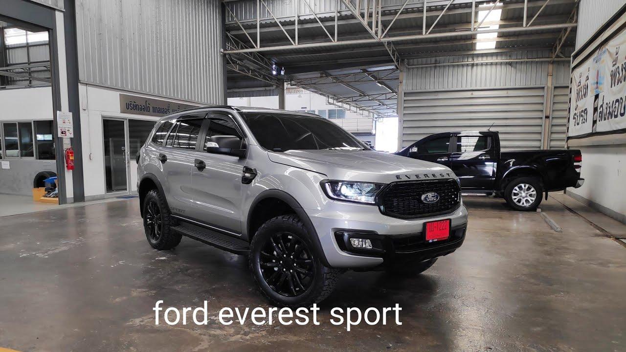 สร้างกระแสจับเจ้า ford everest sport 2020 มาแต่งหล่อสีนี้แต่งดุดันมากครับ