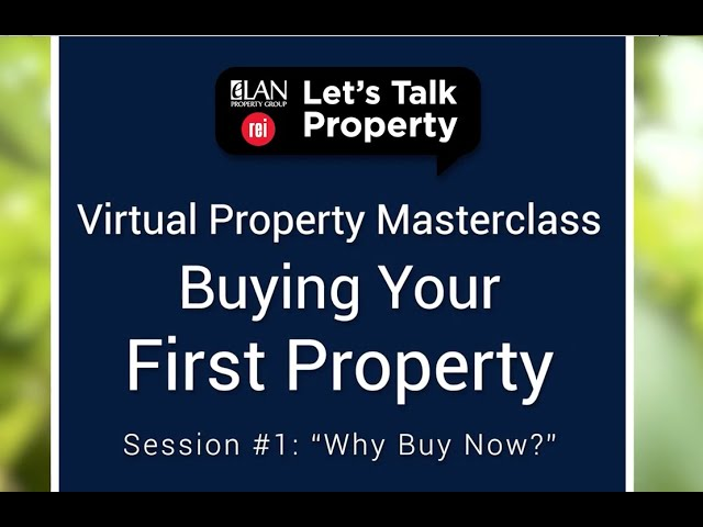 Virtual Property Masterclass  Session #1  Why Buy Now